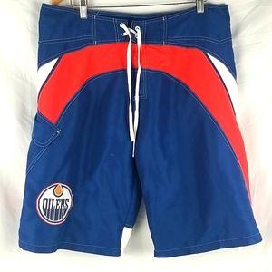 NHL Edmonton Oilers Swim Trunk Size XL